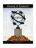 House & Garden Cover - May 1927 Giclee Print by André E. Marty