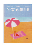 The New Yorker Cover - August 20, 1984 Regular Giclee Print by Heidi Goennel