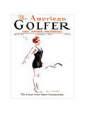The American Golfer July 28, 1923 Regular Giclee Print by James Montgomery Flagg