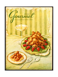 Gourmet Cover - May 1956 Regular Giclee Print by Hilary Knight