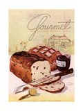 Gourmet Cover - February 1944 Giclee Print by Henry Stahlhut