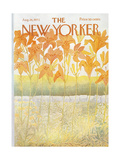 The New Yorker Cover - August 26, 1972 Regular Giclee Print by Ilonka Karasz