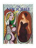 The New Yorker Cover - November 23, 1992 Giclee Print by Russell Connor