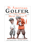 The American Golfer May 3, 1924 Regular Giclee Print by James Montgomery Flagg
