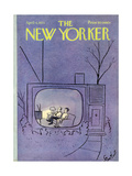 The New Yorker Cover - April 4, 1970 Regular Giclee Print by Stan Hunt