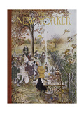 The New Yorker Cover - October 20, 1962 Regular Giclee Print by Mary Petty