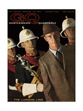 GQ Cover - October 1960 Regular Giclee Print by Chadwick Hall