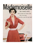 Mademoiselle Cover - March 1953 Regular Giclee Print by Mark Shaw