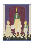 Vogue - November 1916 Regular Giclee Print by Irma Campbell