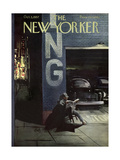 The New Yorker Cover - October 5, 1957 Giclee Print by Arthur Getz