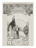 Vogue Regular Giclee Print by Harry McVickar