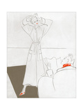 Vogue - January 1935 Regular Giclee Print by Eduardo Garcia Benito