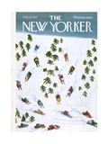 The New Yorker Cover - February 27, 1971 Giclee-trykk av Donald Reilly