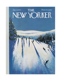 The New Yorker Cover - January 20, 1973 Regular Giclee Print by Arthur Getz