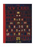 The New Yorker Cover - December 26, 1953 Regular Giclee Print by Ilonka Karasz