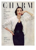 Charm Cover - November 1950 Reproduction proc&#233;d&#233; gicl&#233;e par Francesco Scavullo