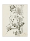 Vogue - April 1932 Regular Giclee Print by Cecil Beaton