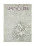 The New Yorker Cover - January 7, 1967 Giclee Print by Laura Jean Allen