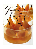 Gourmet Cover - September 1990 Regular Giclee Print by Romulo Yanes