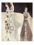 Vogue - January 1937 Giclee Print by R.S. Grafstrom