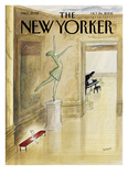 The New Yorker Cover - October 24, 2005 Giclée-Druck von Jean-Jacques Sempé