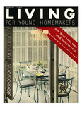 Living for Young Homemakers Cover - August 1957 Regular Giclee Print by Ernest Silva