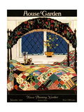House & Garden Cover - November 1921 Premium Giclee Print by Clayton Knight
