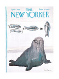 The New Yorker Cover - April 6, 1968 Giclee Print by Andre Francois
