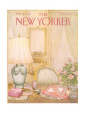 The New Yorker Cover - February 18, 1985 Regular Giclee Print by Jenni Oliver