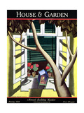 House & Garden Cover - January 1928 Regular Giclee Print by Bradley Walker Tomlin