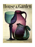 House & Garden Cover - September 1944 Giclee Print by Haanel Cassidy