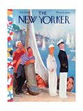 The New Yorker Cover - July 31, 1937 Regular Giclee Print by William Cotton