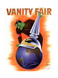Vanity Fair Cover - August 1935 Regular Giclee Print by  Garretto