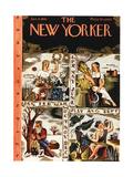 The New Yorker Cover - January 4, 1941 Regular Giclee Print by Ilonka Karasz