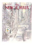 The New Yorker Cover - March 21, 1988 Reproduction procédé giclée par Jean-Jacques Sempé