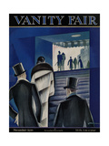 Vanity Fair Cover - November 1926 Regular Giclee Print by Victor Bobritsky