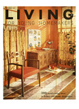 Living for Young Homemakers Cover - September 1957 Regular Giclee Print by F. M. Demarest