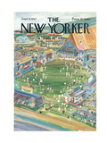 The New Yorker Cover - September 9, 1967 Premium Giclee Print by Anatol Kovarsky