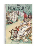 The New Yorker Cover - August 3, 1935 Giclee Print by Helen E. Hokinson