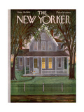 The New Yorker Cover - June 30, 1956 Giclee Print by Edna Eicke
