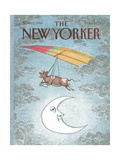 The New Yorker Cover - November 21, 1988 Regular Giclee Print by John O'brien