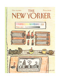 The New Yorker Cover - October 10, 1983 Giclee Print by Douglas Florian