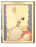 Vogue Cover - January 1922 Giclee Print by Georges Lepape