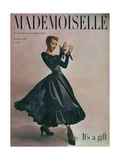 Mademoiselle Cover - November 1948 Regular Giclee Print by Gene Fenn