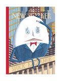 The New Yorker Cover - February 4, 2008 Giclee Print by Kathy Osborn