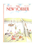 The New Yorker Cover - August 2, 1982 Regular Giclee Print by Anne Burgess