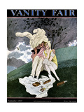 Vanity Fair Cover - September 1927 Regular Giclee Print by Pierre Brissaud