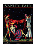 Vanity Fair Cover - January 1926 Giclee Print by Stanley W. Reynolds