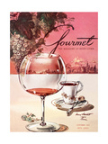 Gourmet Cover - October 1953 Giclee Print by Henry Stahlhut