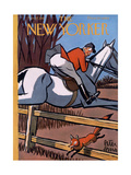 The New Yorker Cover - November 17, 1951 Reproduction procédé giclée par Peter Arno